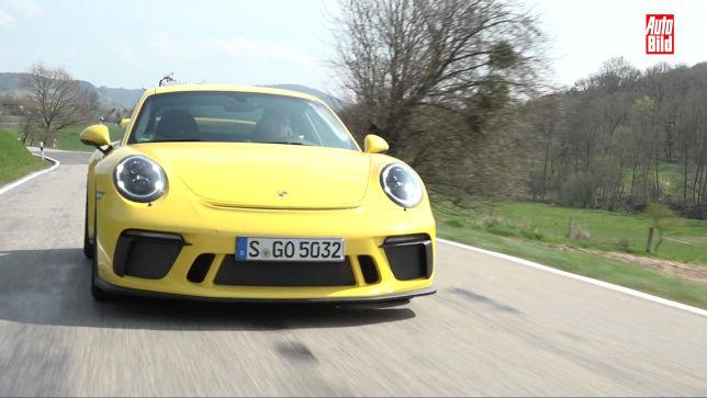 Motorsportfeeling mit dem neuen Porsche 911 GT3
