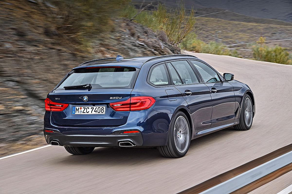 BMW 5er Touring G31 2017 Fahrbericht
