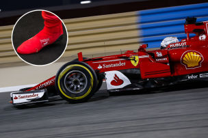Rennsocke für Ferrari-Star