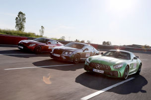 Aston Martin DB11/Bentley Continental/Mercedes-AMG GT R: Test