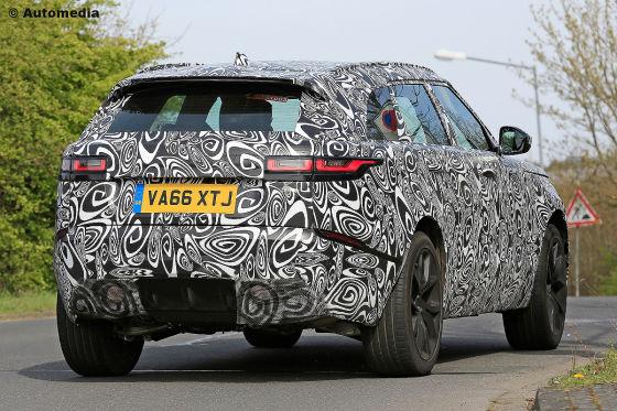 Erste Bilder vom Range Rover Velar SVR
