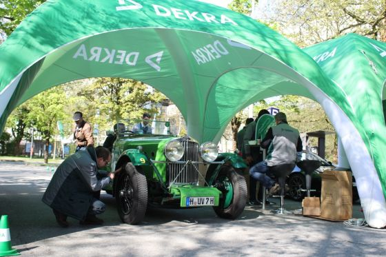 Bodensee-Klassik 2017: Technische Abnahme