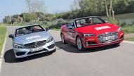 Audi S5/Mercedes C 43 AMG Cabrio: Test