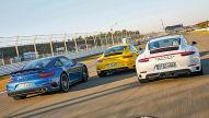 911 Turbo/911 Carrera 4S/911 GTS: Test