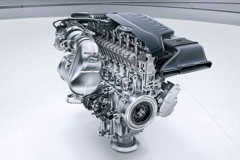 Mercedes Sechszylinder Reihenmotor M256 (2017)