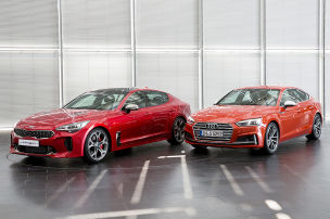 Jetzt macht Kia auf Audi