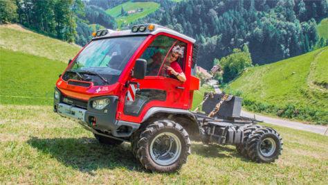 Aebi VT 450 Vario: Fahrbericht