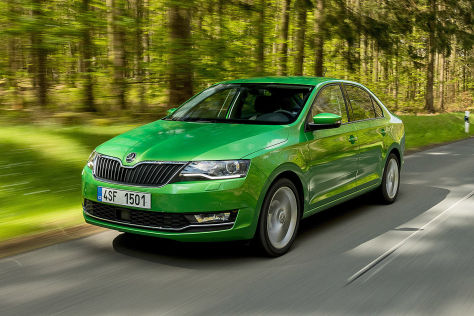 skoda rapid facelift 2017 vorstellung motoren preis. Black Bedroom Furniture Sets. Home Design Ideas