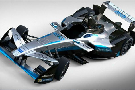 Formel E: Hersteller Designs