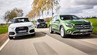 Audi Q3/Mercedes GLA/Mini Countryman: Test