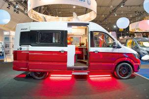 Knaus VW Crafter Saint & Sinner: Wohnmobil-Studie