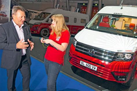 Studie Knaus VW Crafter Saint & Sinner