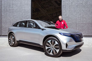 Mercedes-Benz EQ/EQC Concept (2019): Test
