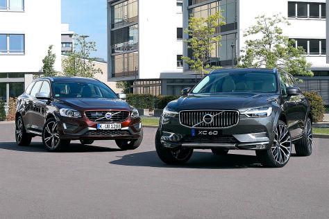 Volvo XC60 (2017): Alt und neu im Vergleich
