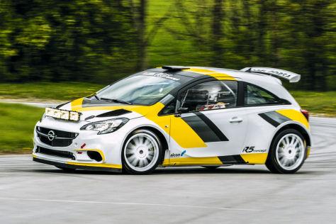 Neuer Opel R5 Corsa