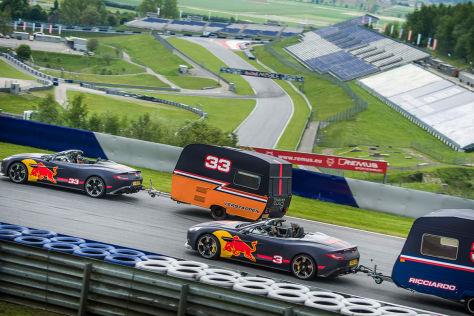 Formel 1: Red Bull Wohnwagen-Rennen