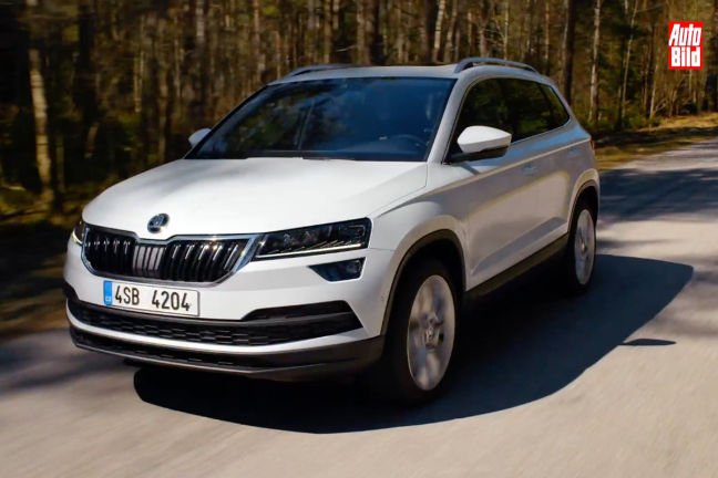 Video: Skoda Karoq (2017) - autobild.de
