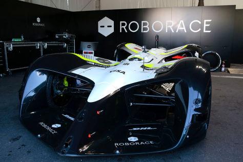 Formel E: Robocar gibt Debüt