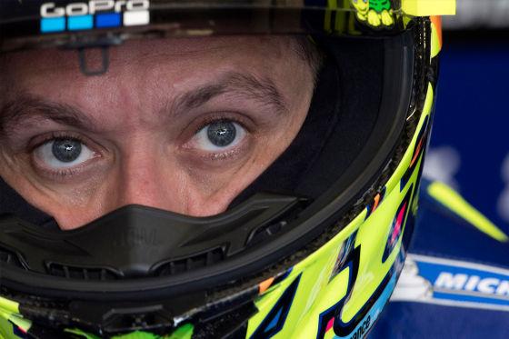 Rossi-Sturz in letzter Runde