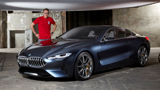Video Bmw 8er Concept 2017 Autobild De