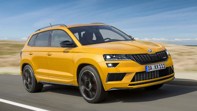 Video Skoda Karoq Rs 2018 Autobild De