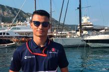 Interview mit Wehrlein in Monaco