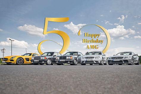 50 Jahre AMG: Fahrberichte