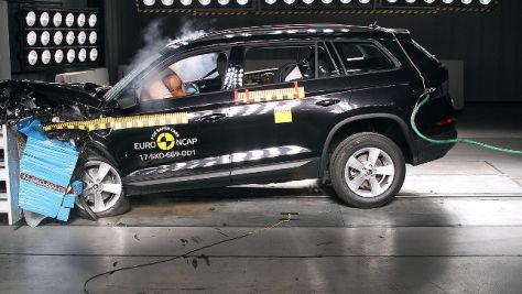 Skoda Kodiaq: Euro NCAP Crashtest 2017