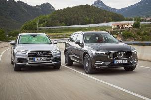Audi Q5/Volvo XC60: SUVs im Test