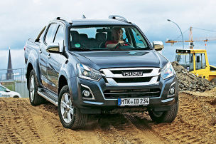 Isuzu D-Max Double-Cab 4WD: Test