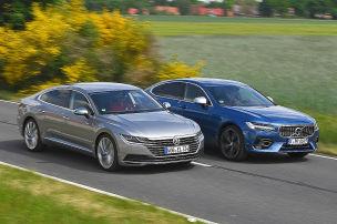 VW Arteon/Volvo S90: Test