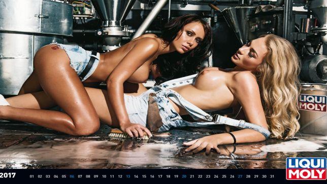 Das sind die Kalendergirls von 2016