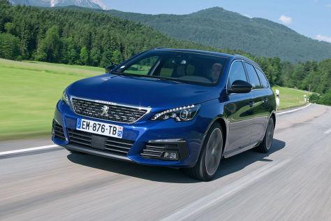 Peugeot 308 Facelift (2017): Test