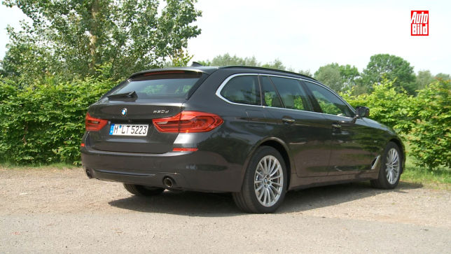 So viel Stauraum bietet der 5er BMW