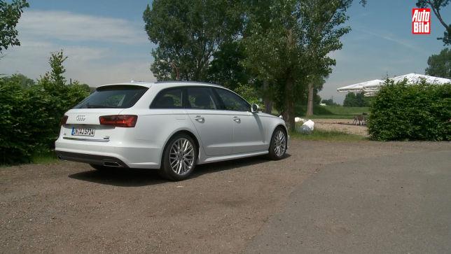 Alle Maße der Ladefläche des Audi A6 Avant