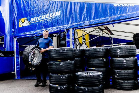 Michelin bei den ePrixs von Berlin