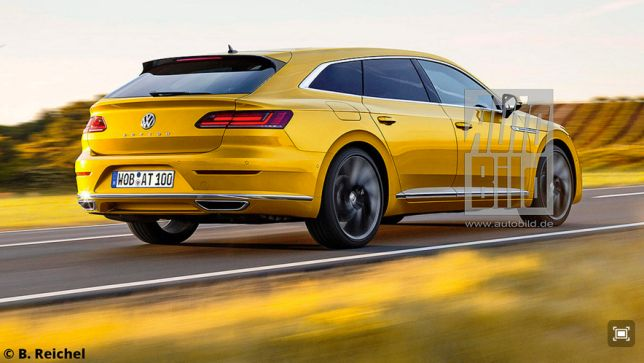 Video Vw Arteon Shooting Brake 2018 Autobild De