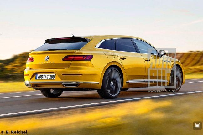 Video: VW Arteon Shooting Brake (2018) - autobild.de