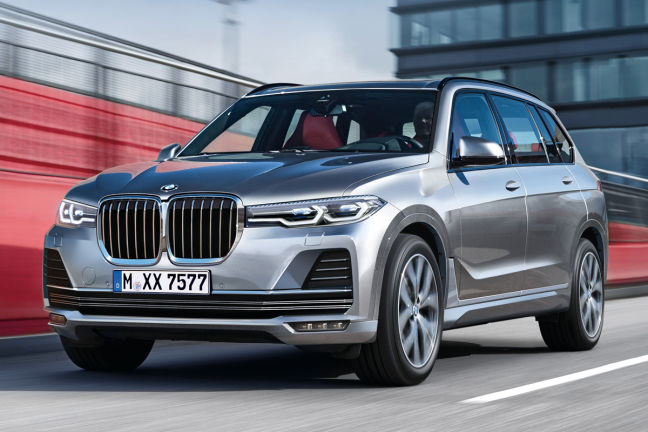Bmw Santa Fe >> Video: BMW X7 (2018) - autobild.de