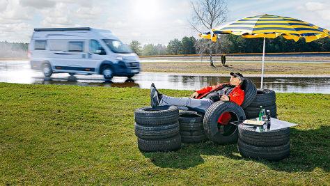 Wohnmobil-Reifen 215/70 R 15 C: Test 2017