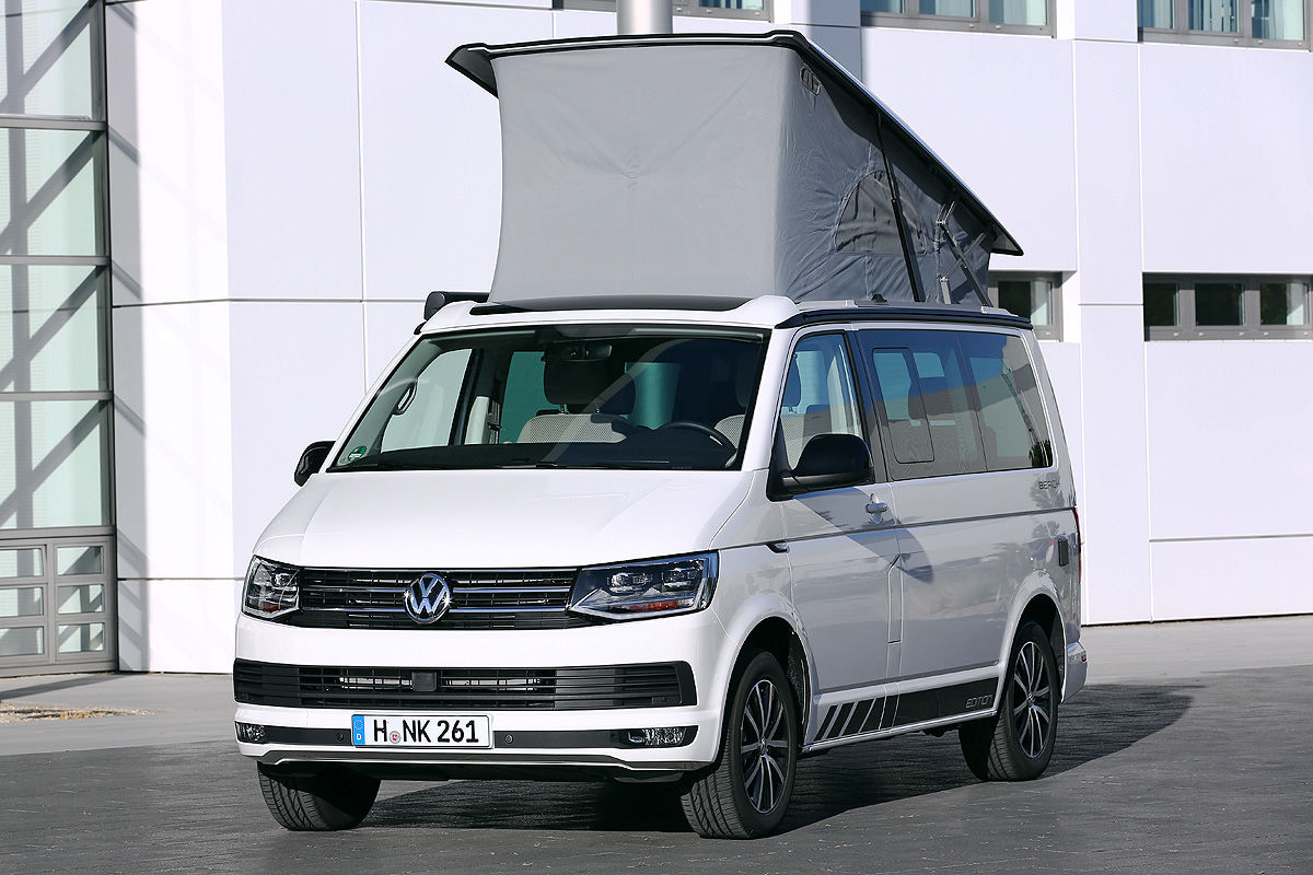 vw california beach vw t6 california ab in den urlaub ab. Black Bedroom Furniture Sets. Home Design Ideas
