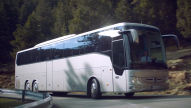 Hightech-Reisebus mit Stern