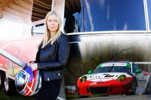 Porsches Le-Mans-Lady