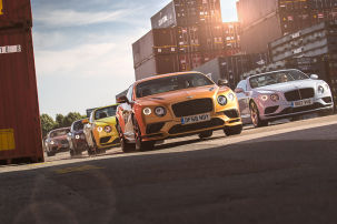 Bentley Continental GT Tour 2017