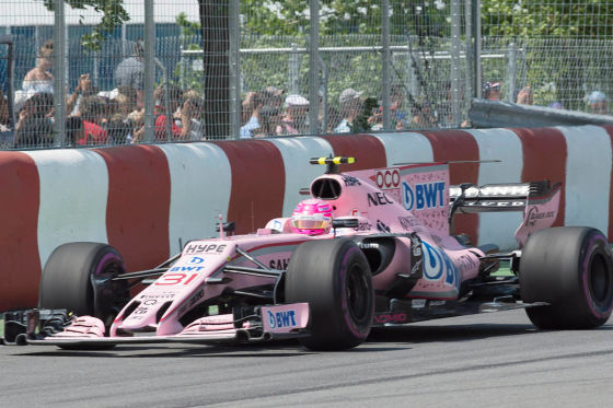 Lucas Auer soll für Force India in Budapest testen