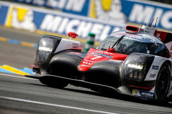 Le Mans Toyota