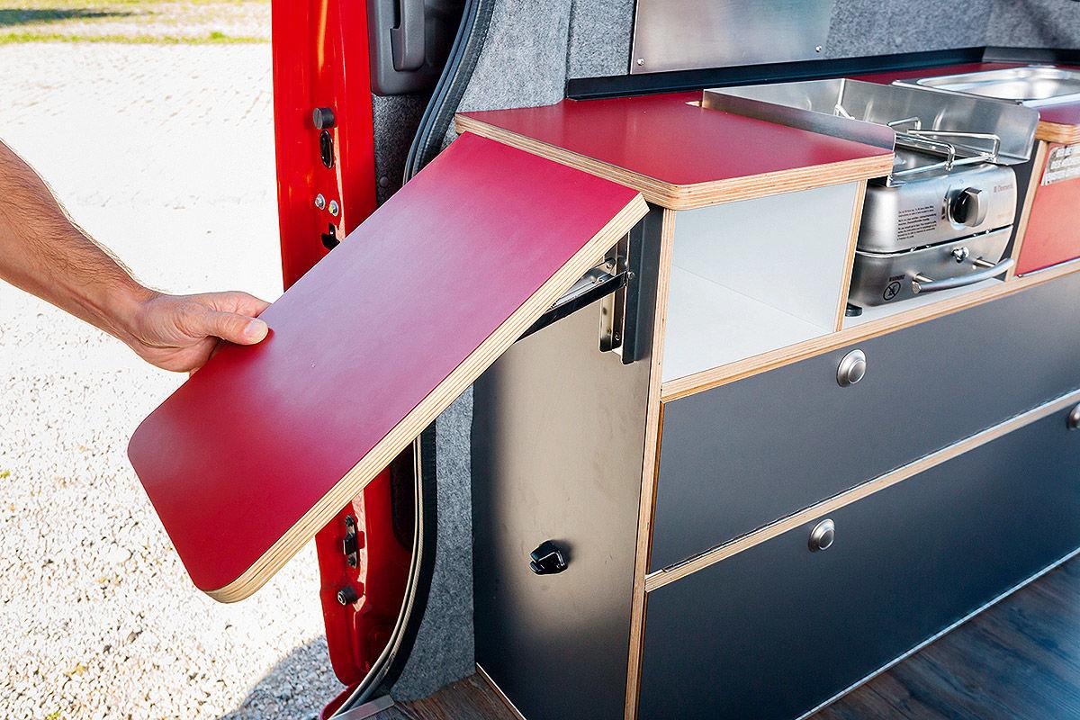 Nissan nv200 alpincamper wohnmobil test bilder for Wer nimmt gebrauchte mobel