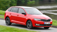 Skoda Rapid Spaceback: Test