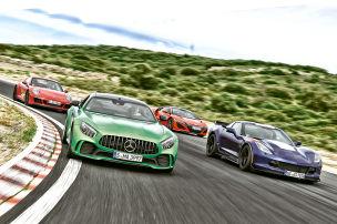 GT-R, Corvette, 911, NSX im Test