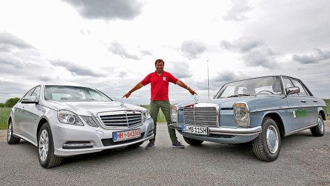 Mercedes E 200 (W212) und Strich-8 im Gebraucht-Test